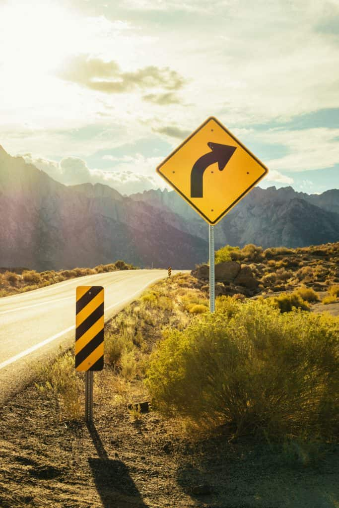 photo of road sign | colorado accident attorney